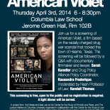 criminal justice in american violet American violet movie review  even in the criminal justice system, causing much harm to innocent people  and having someone in charge of the d e a with .